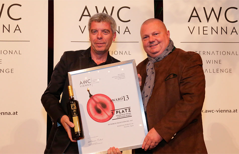 Pedro Ximénez 1927, selected as the best wine in its category at the International Wine Challenge (AWC) Vienna.