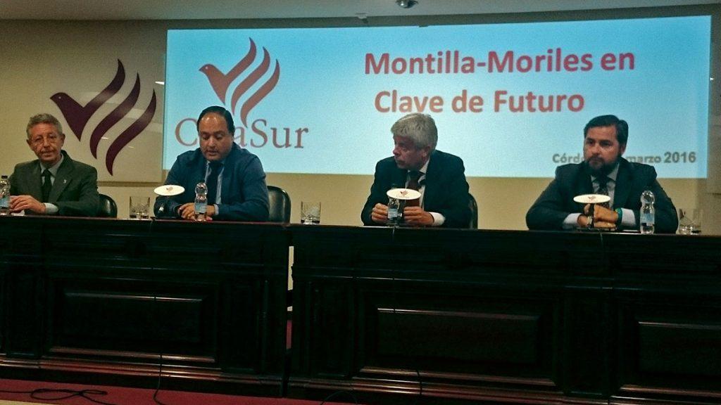 """Bodegas Roblesen el ciclo """"Montilla Moriles en clave de futuro."""""""
