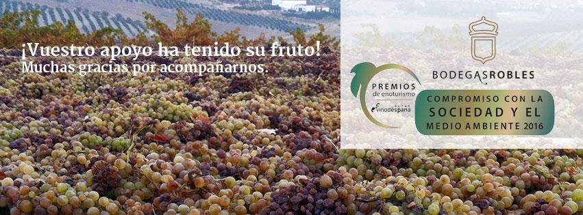 "Premios de enoturismo Premios de Enoturismo ""Rutas del Vino de España"""