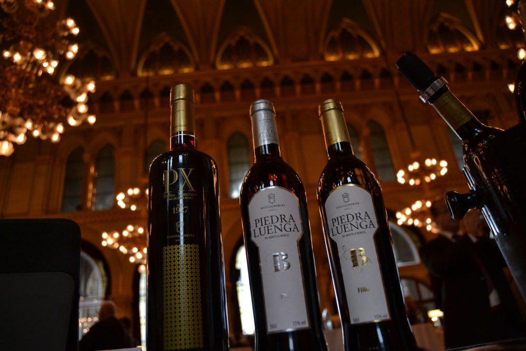 Nuestros vinos en AWC Vienna.
